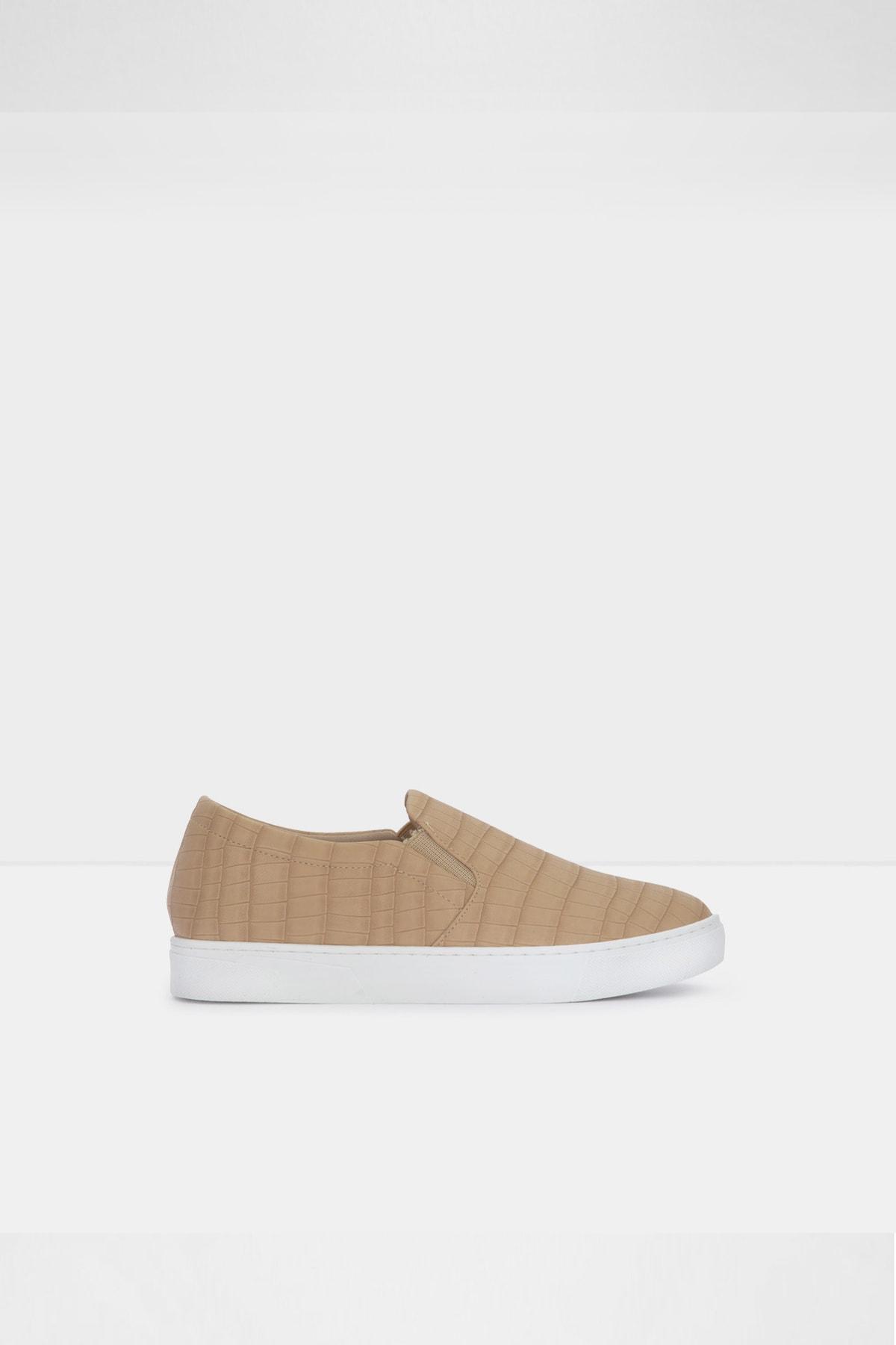 Aldo Kadın Bej  Suni Deri Sneaker Ayakkabı 1