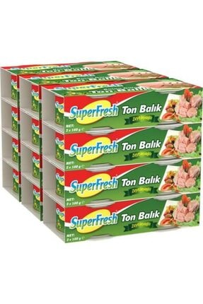 SuperFresh Ton Balığı Zeytinyağlı 160 gr X 24 Adet