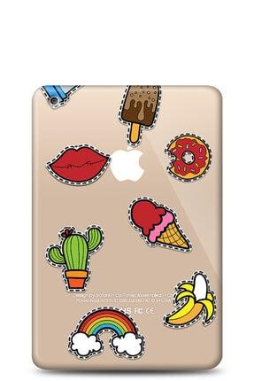 MobilCadde Apple Ipad Air Stickers Resimli Kılıf