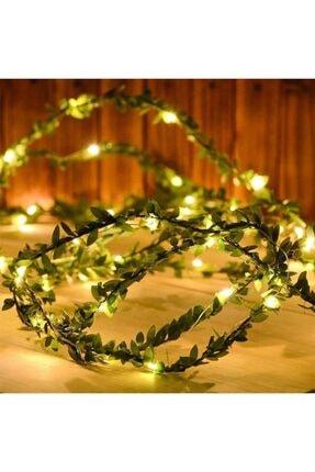 Bakmakistersen Yaprak Dekorlu Sarmaşık 3 Metre Peri Led Işık Şerit Led