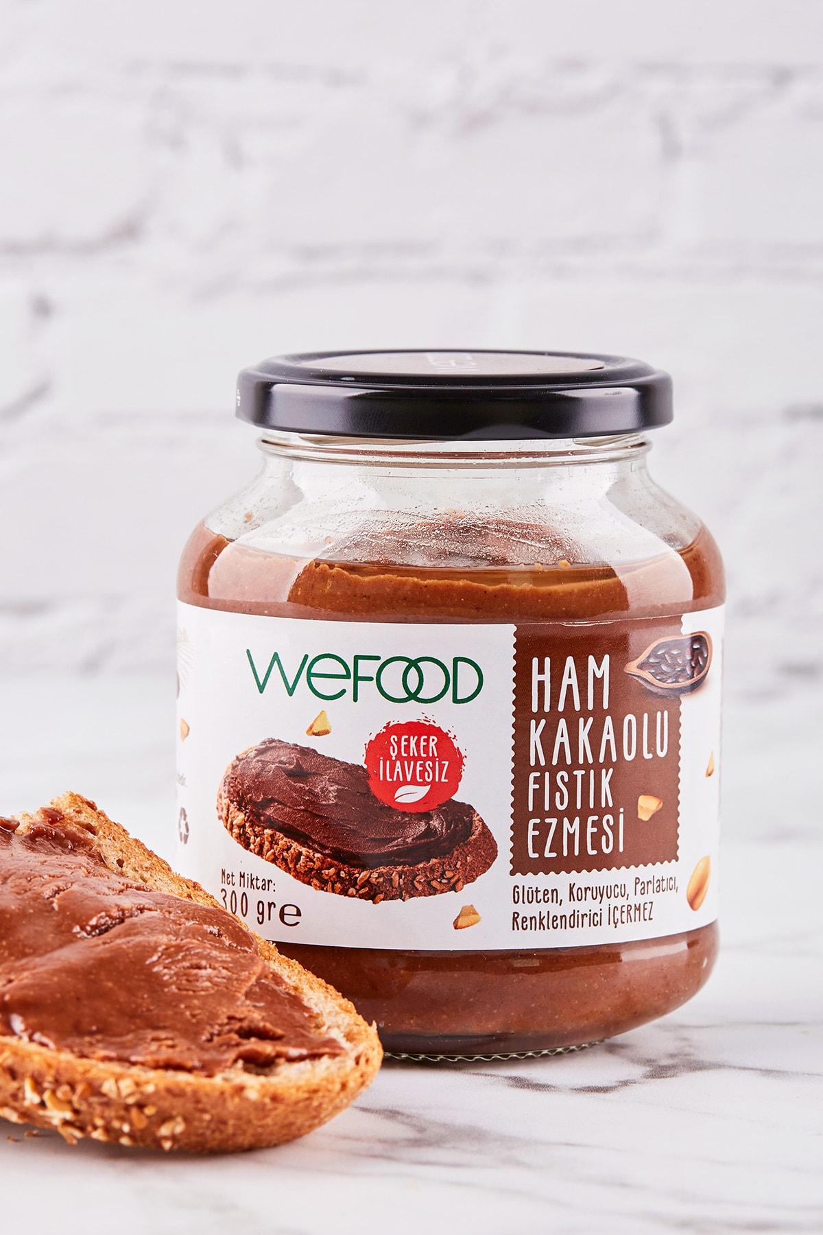 Wefood Ham Kakaolu Fıstık Ezmesi 300 Gr 2