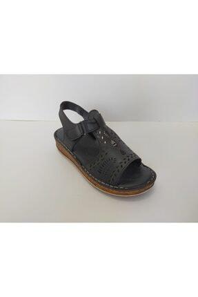 İpekçe  Kadın Siyah Yeni Sezon Sandalet