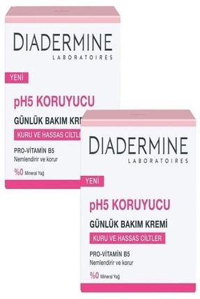 Diadermine Koruyucu Nemlendirici Bakım Kremi Kuru/Hassas Ciltler 50+50ml