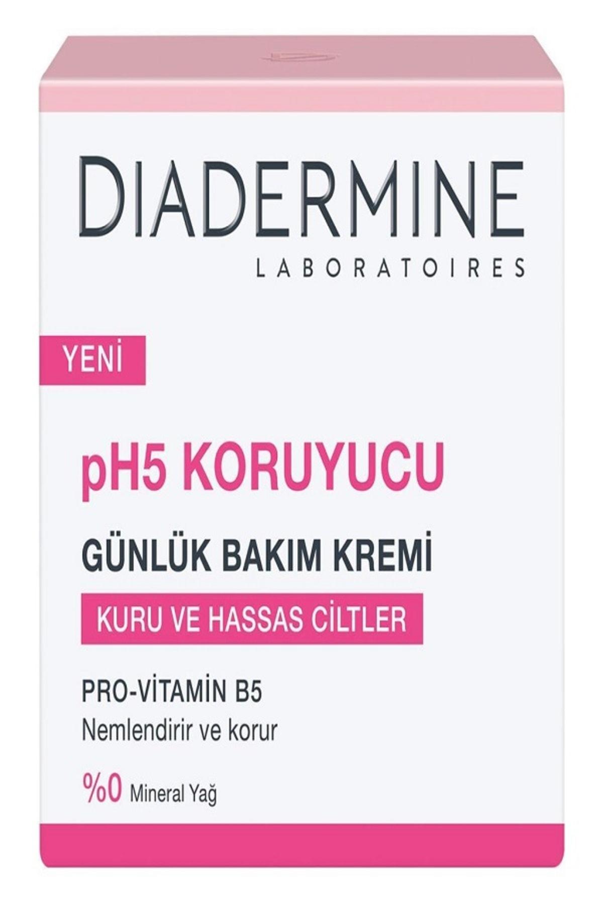 Diadermine Koruyucu Nemlendirici Bakım Kremi Kuru/Hassas Ciltler 50+50ml 2