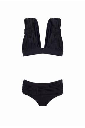 Nur Karaata 3 In 1 Bikini Set Black