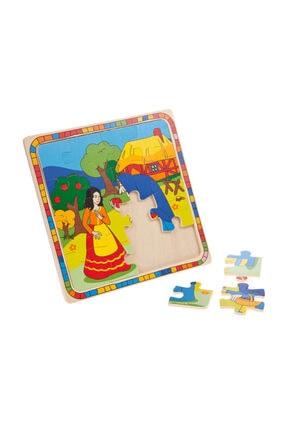 Wooden Toys Pamuk Prenses Ahşap Yapboz Puzzle