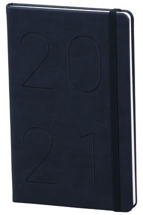 Matt Notebook 2021 Günlük Ajanda Siyah