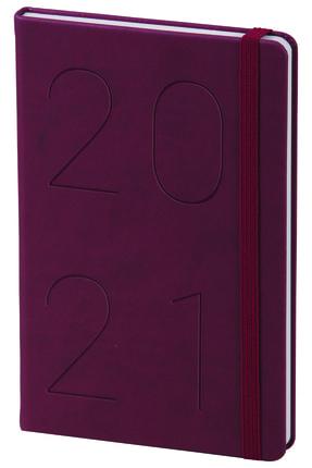Matt Notebook 2021 Günlük Ajanda Bordo
