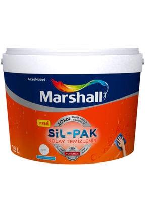 Marshall Sil-pak Leke Tutmaz Duvar Boyası 2.5 Lt / 3.5 Kg Gelin Teli