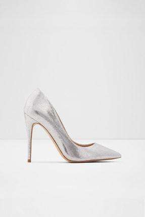 Aldo Kadın Gümüş İnce Topuklu Ayakkabı