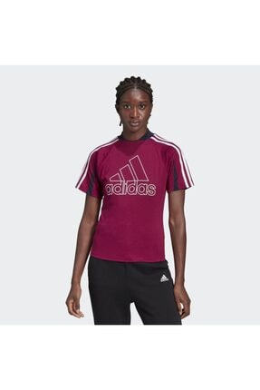 adidas Kadın Mor Spor T-Shirt