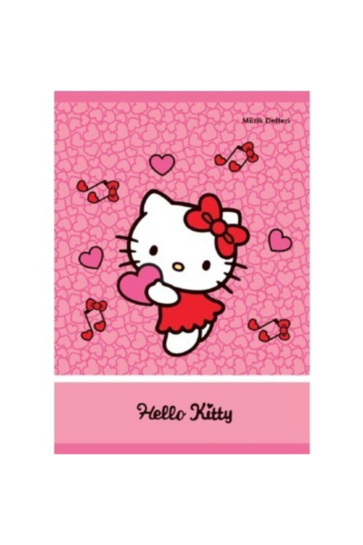 Mynote My Note Hello Kitty Pp Kalpli A4 40 Yaprak Müzik Defteri 1