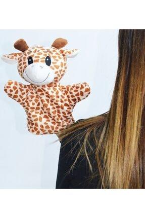 HALLEY Zürafa El Kuklası 25 cm Peluş