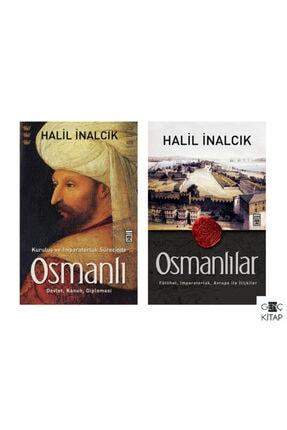 Timaş Yayınları Halil Inalcık 2 Kitap Osmanlı Seti