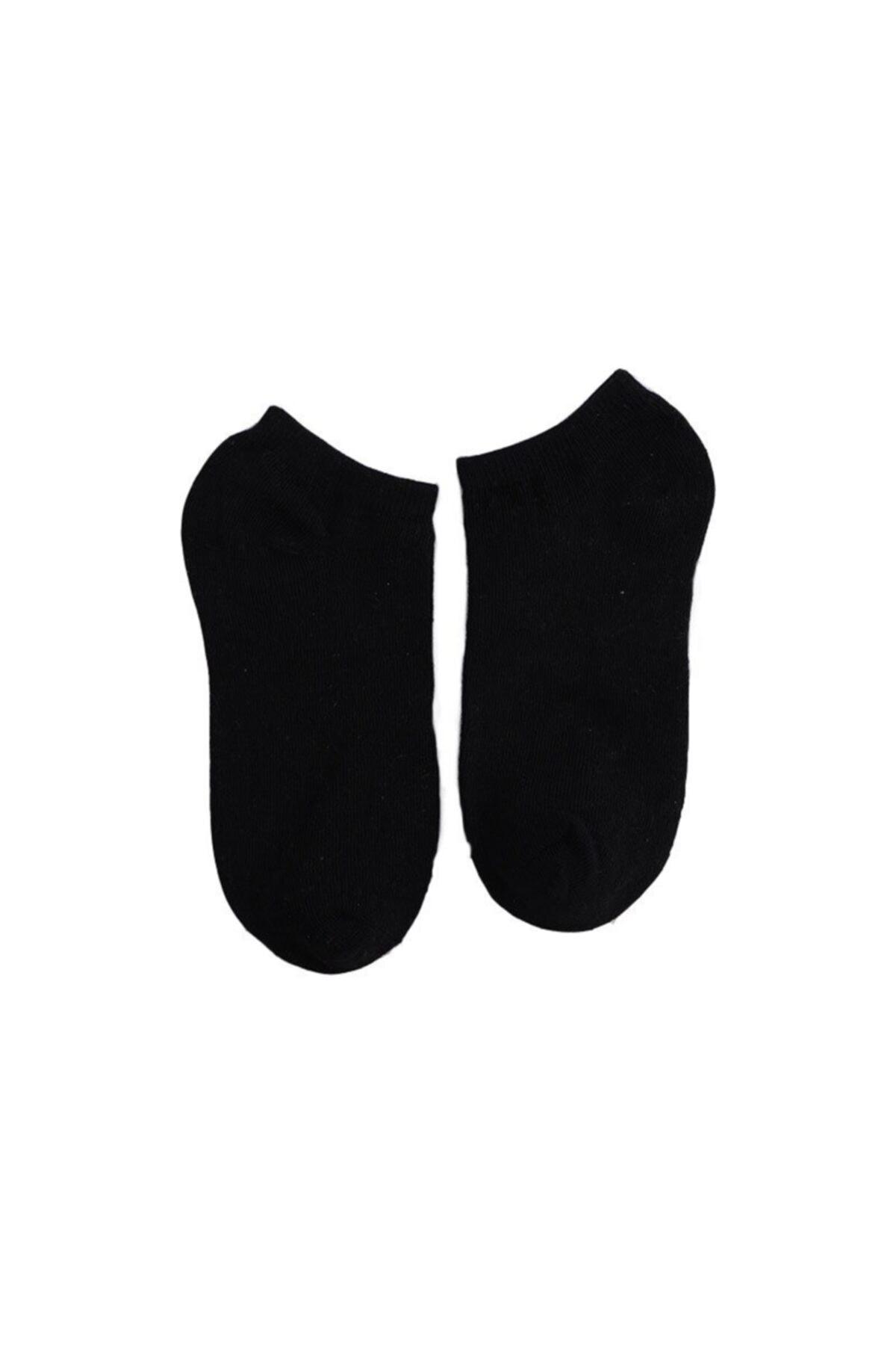 çorapmanya 10 Çift Koton Ekonomik Karışık Renk Kadın Patik Çorap 2