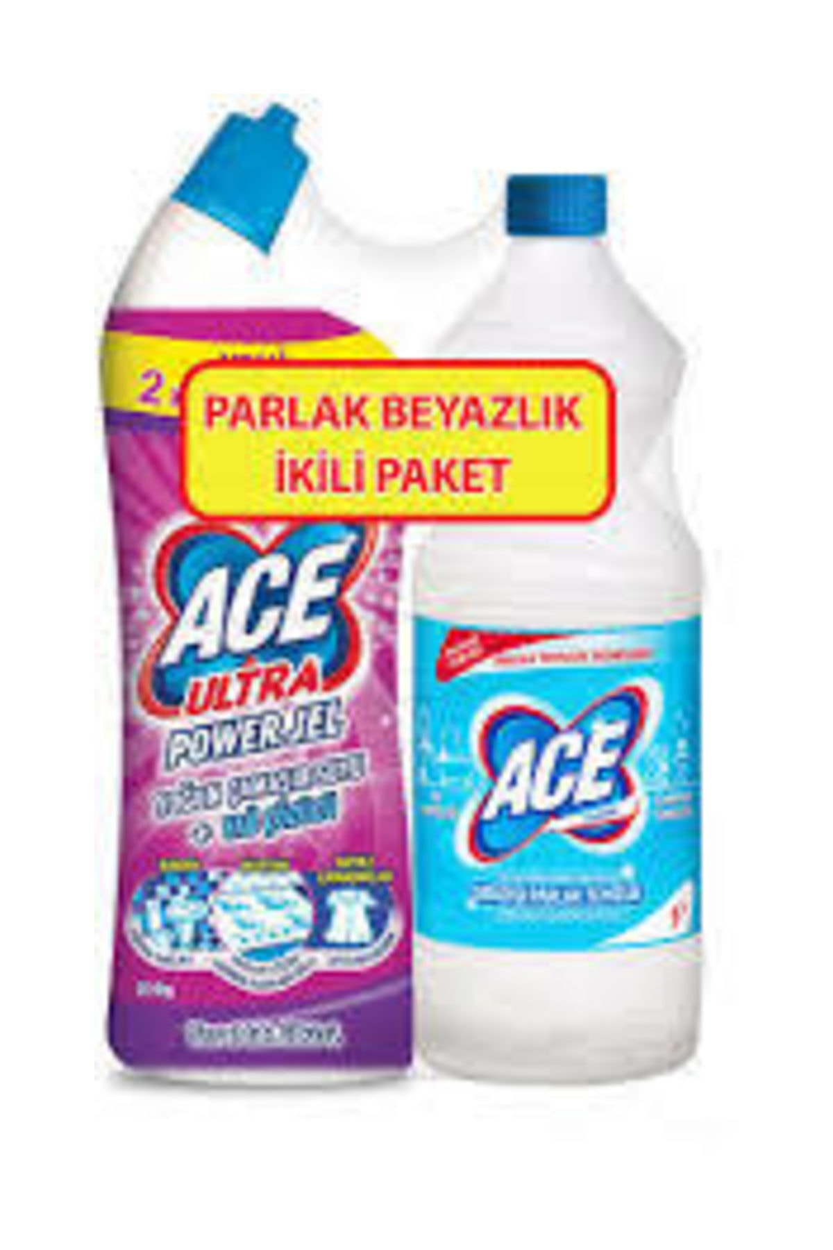 ACE Ultra Power Jel 750 ml ve Klasik 1 lt 1