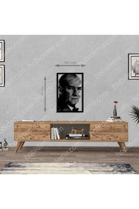 metaltablo Atatürk Portre 4 Metal Tablo 60x40 Cm