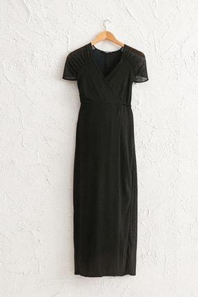 LC Waikiki Kadın  Yeni Siyah  Elbise 0Sad40Z8