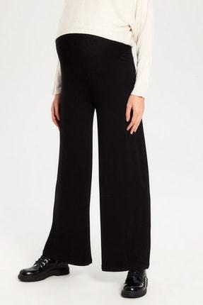 LC Waikiki Hamile Yeni Siyah Pantolon 0S4333Z8