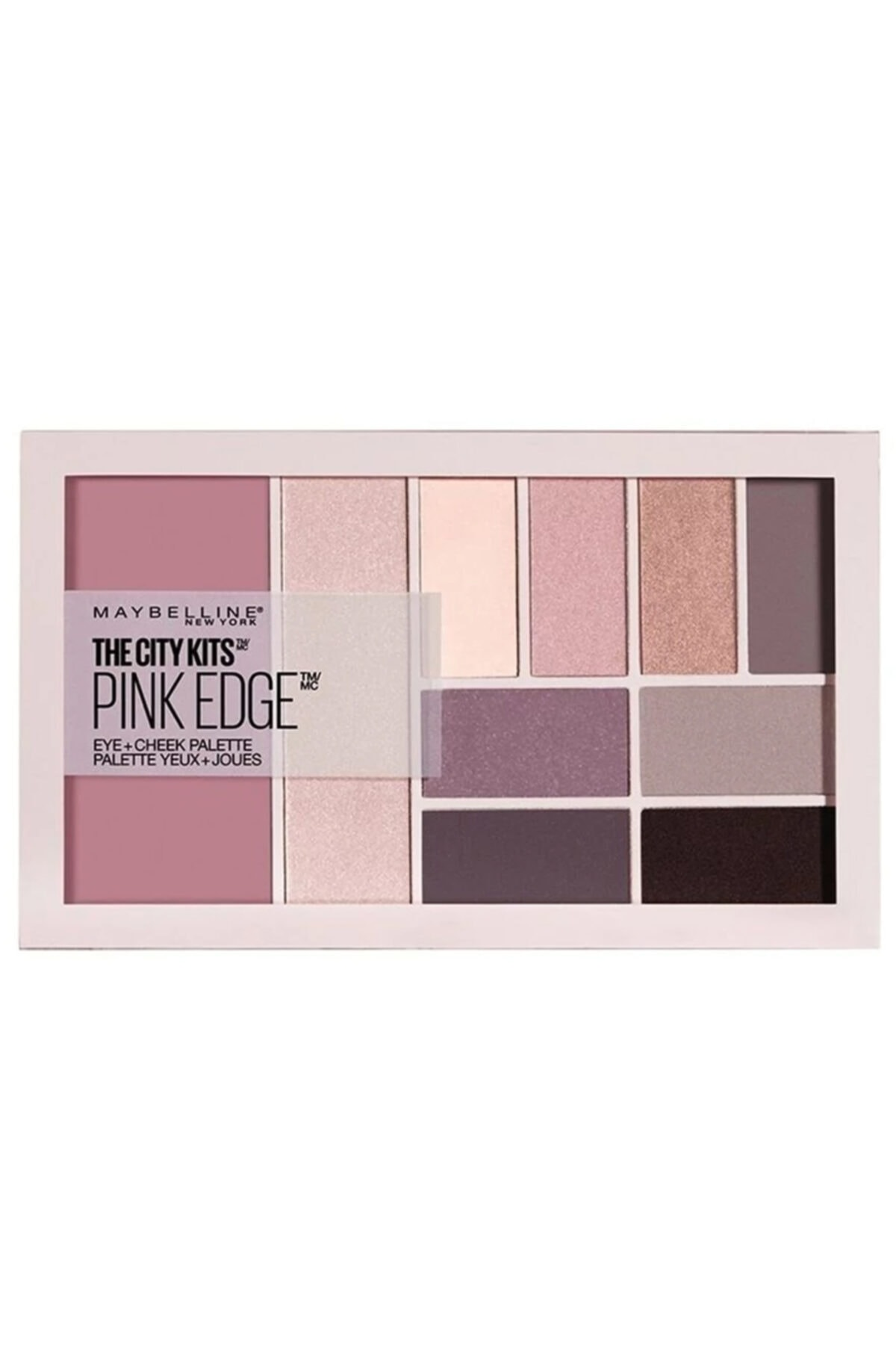 Maybelline New York Göz ve Ten Paleti - The City Kits Pallette Pink Edge 3600531434632 1