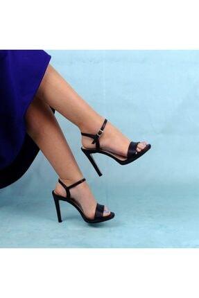 Rollerbird Dove Kadın Siyah Topuklu Ayakkabı