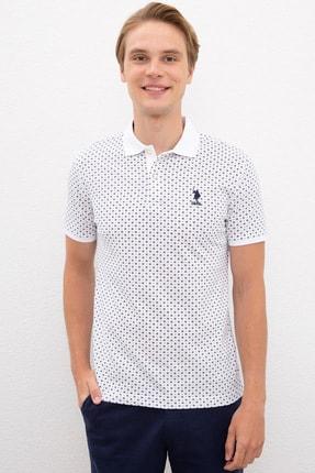 U.S. Polo Assn. Beyaz Erkek T-Shirt
