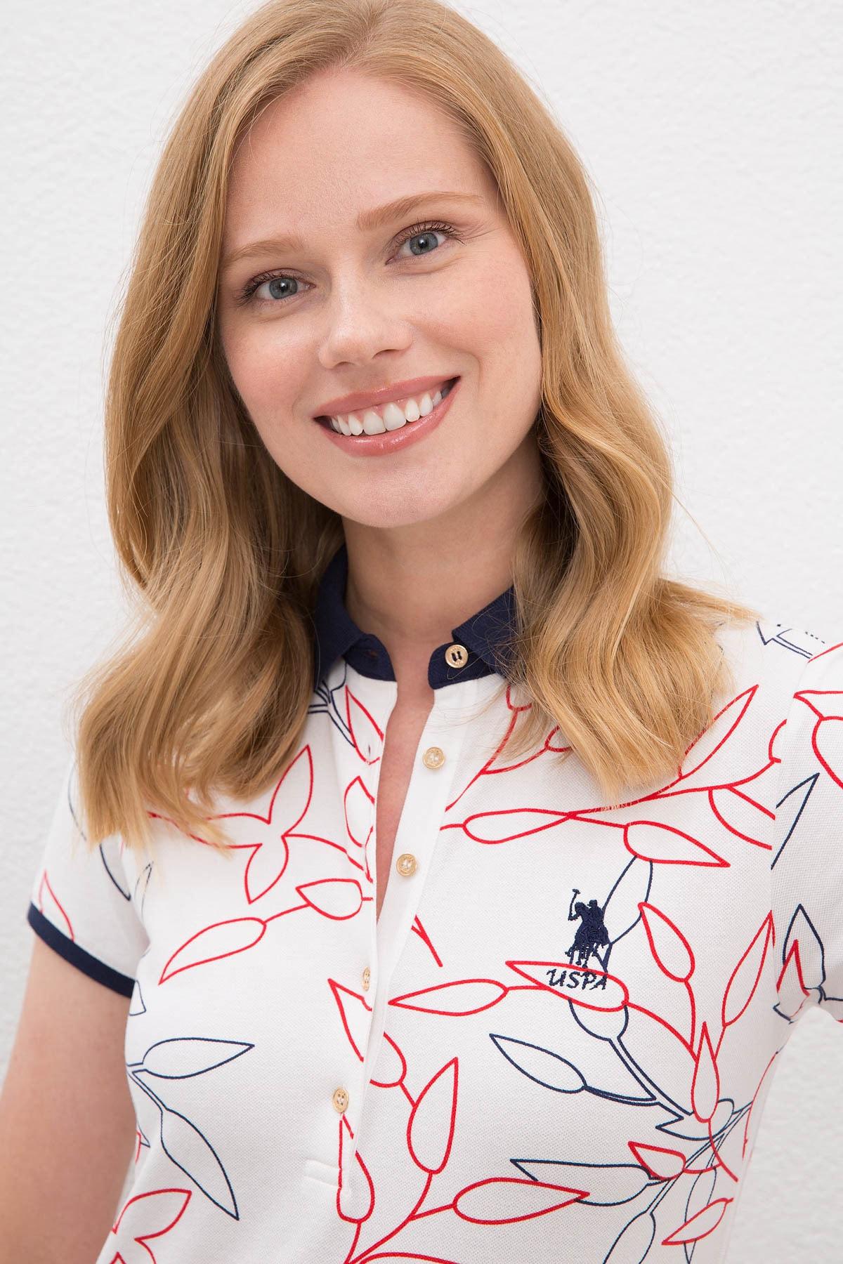 U.S. Polo Assn. Kadın T-Shirt G082SZ011.000.1088199 2