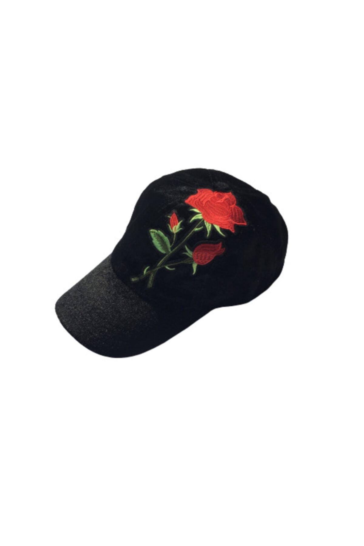 HANGNAVAL Gece Gülü Şapka Kadın Erkek Kadife Şapka 1