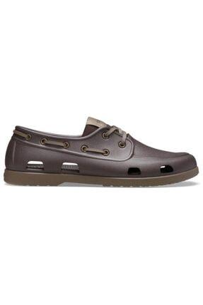 Crocs Erkek Mor Terlik Classic Boat Shoe M 206338-23b