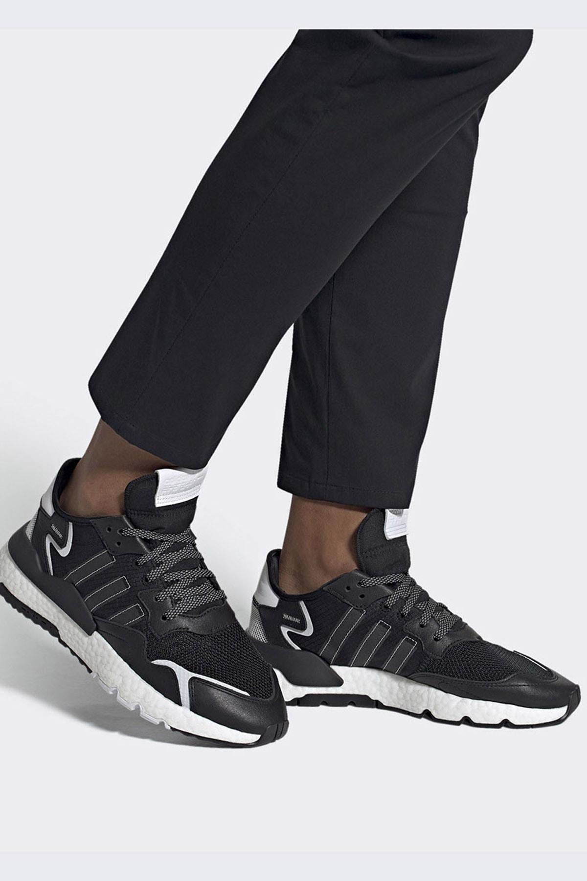 adidas Erkek Günlük Spor Ayakkabı Nite Jogger Fw2055 2