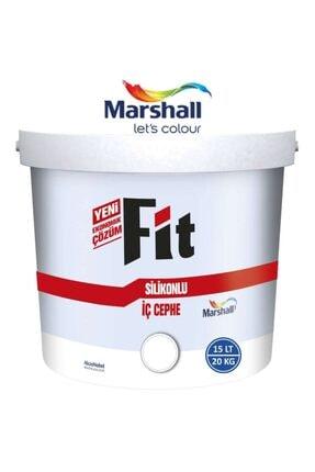 Marshall Mermer Tozu Rengi 15 Lt  20 Kg Fit Silikonlu İç Cephe Duvar Boyası