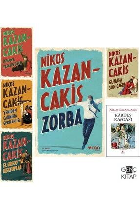 Can Yayınları Nikos Kazancakis 6 Kitap Set Zorba-günaha Son Çağrı-yeniden Çarmıha Gerilen Isa