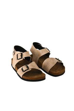 JustBow Unisex  Bej  Sandalet