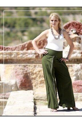 Etnik Esintiler Kadın Siyah Etnik Cotton Pantolon