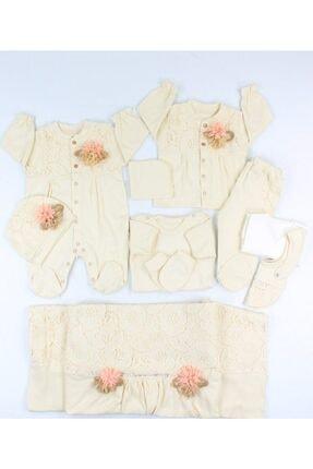 Bebbemini Kız Bebek Somon 10 Parça Hastane Çıkışı
