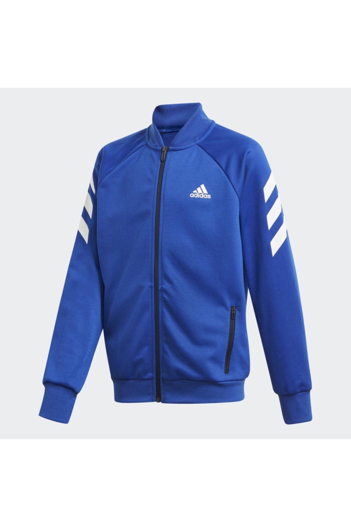 adidas Erkek Çocuk Mavi Xfg Track Suit Eşofman Takımı (ge0719) 2