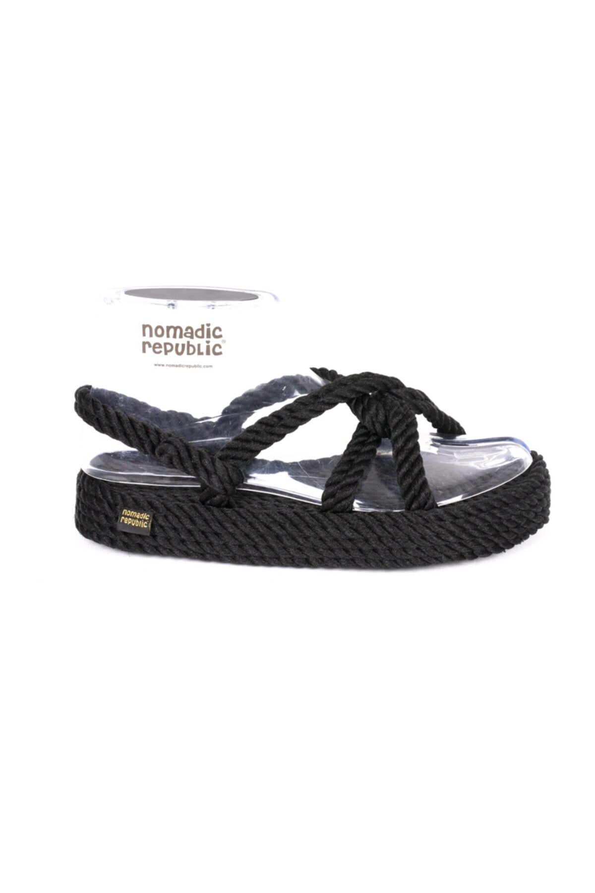 Nomadic Republic Bora Bora Platform Kadın Kalın Taban Ip Sandalet 2
