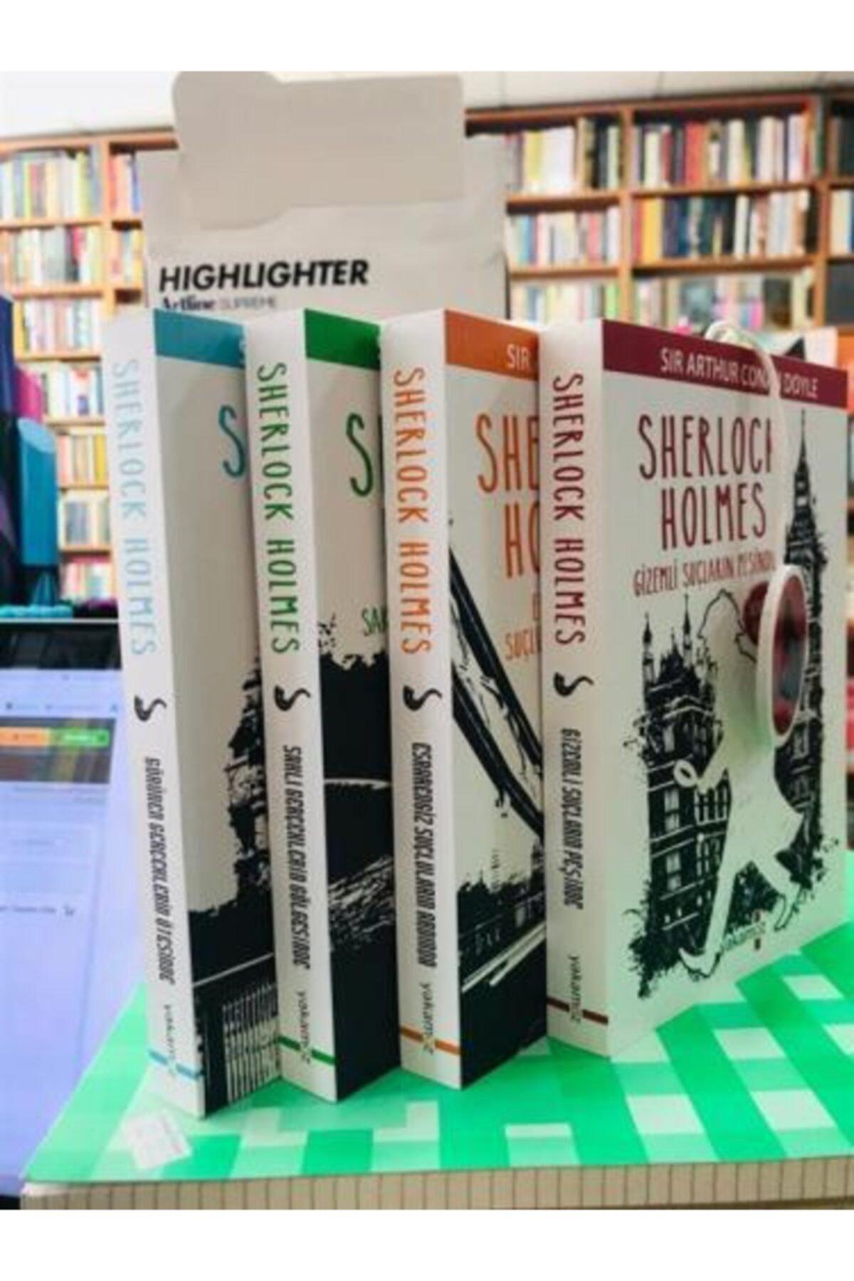 Yakamoz Yayınları Sherlock Holmes Seti Kokulu Kitap 4 Kitap 1