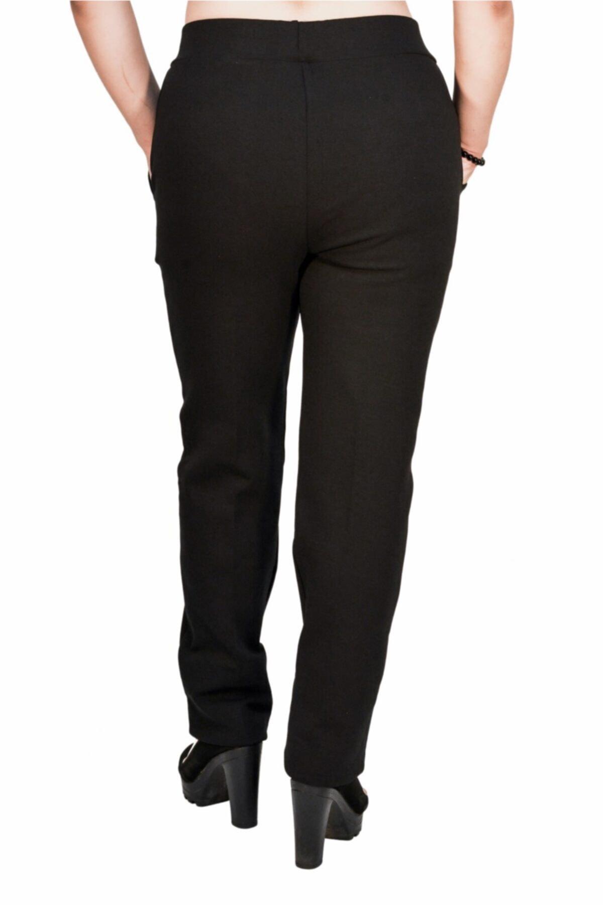 Otto Kadın Siyah Kalem Pantalon 2