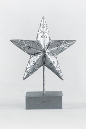 Eymense Gümüş Yıldız Dekoratif Obje