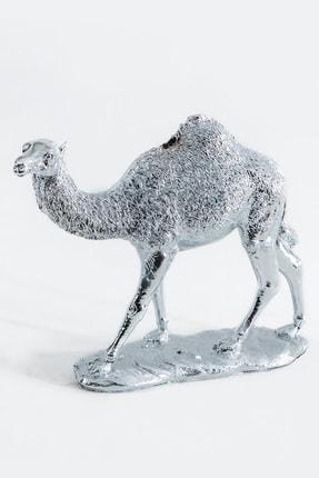 Eymense Gümüş Deve Dekoratif Obje