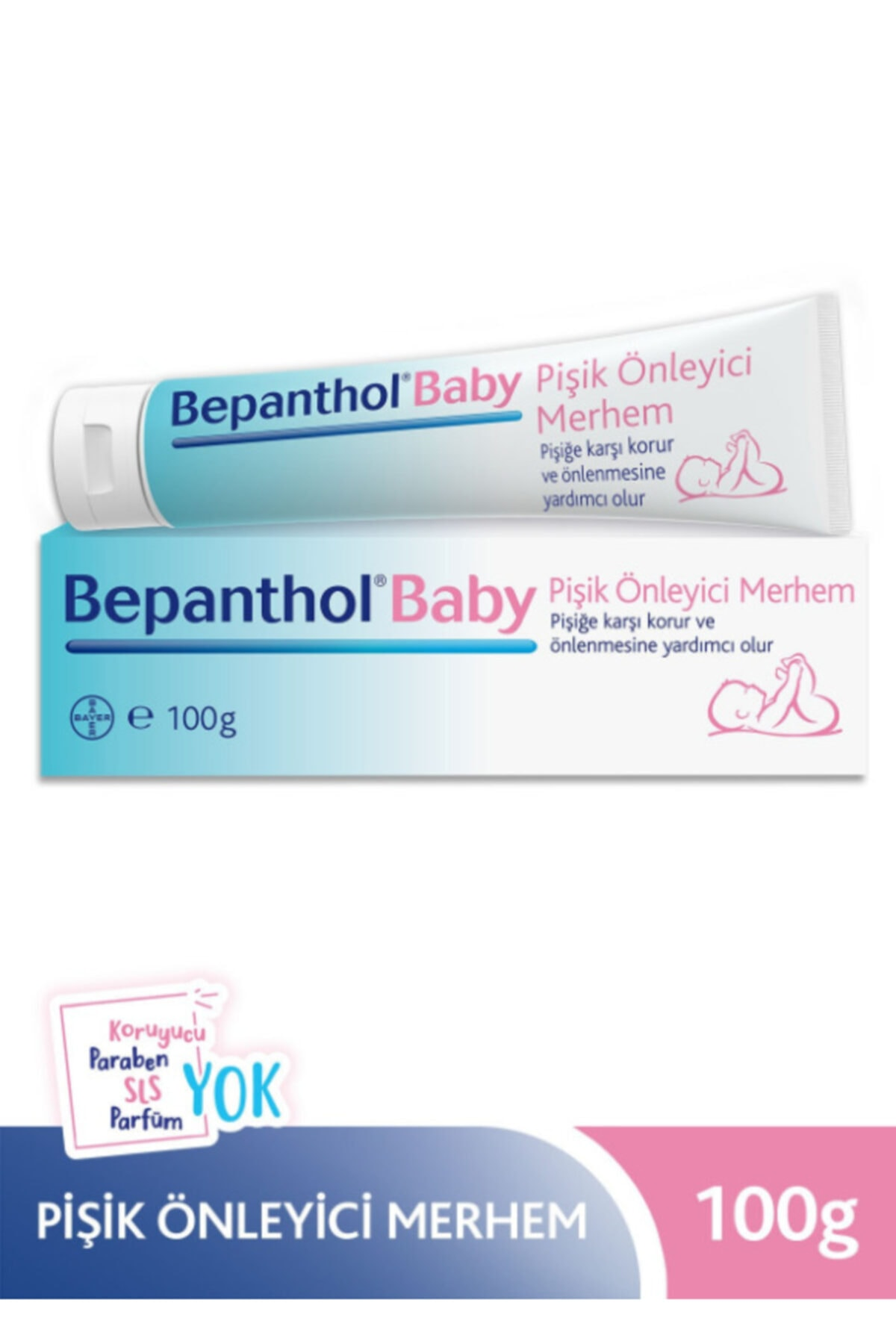 Bepanthol Baby Pişik Kremi 100 gr 2