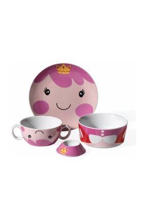 KORKMAZ A731 Bambino Collection 4 Parça Tek Kişilik Porselen Yemek Takımı
