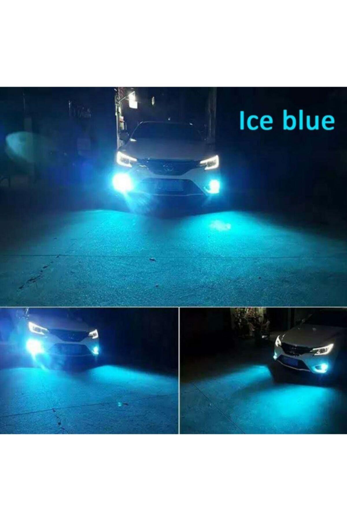 Fardoktoru Buz Mavisi Led Xenon Oto Ampulü H8 H11 H16 1