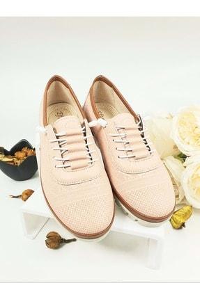 PUNTO Kadın Eftelya Günlük Ayakkabı - Pudra - 39