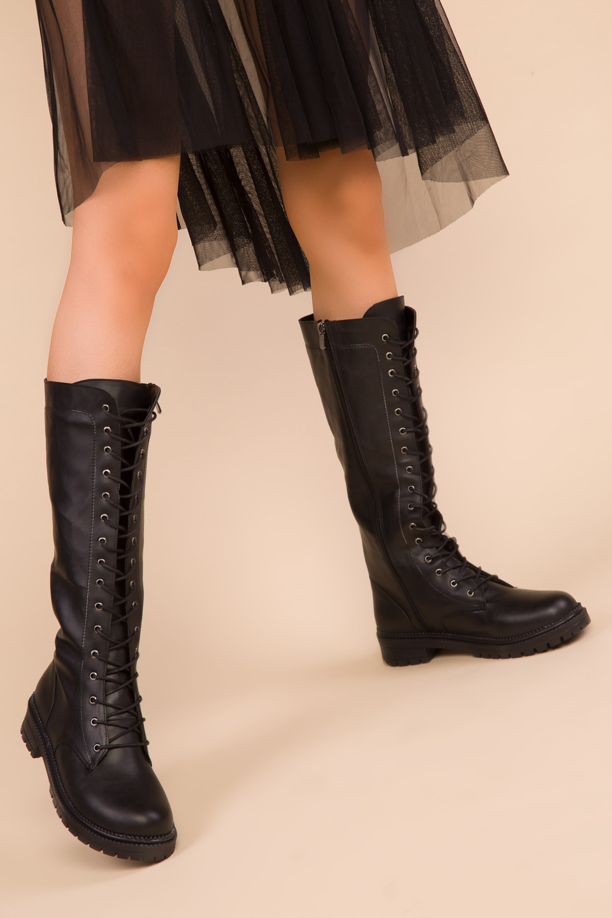 SOHO Siyah Kadın Çizme 15255 2