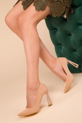 SOHO Nude Flap Kadın Klasik Topuklu Ayakkabı 15250