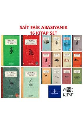 İş Bankası Kültür Yayınları Sait Faik Abasıyanık 16 Kitap Set Mahalle Kahvesi-semaver-seçme Hikayele