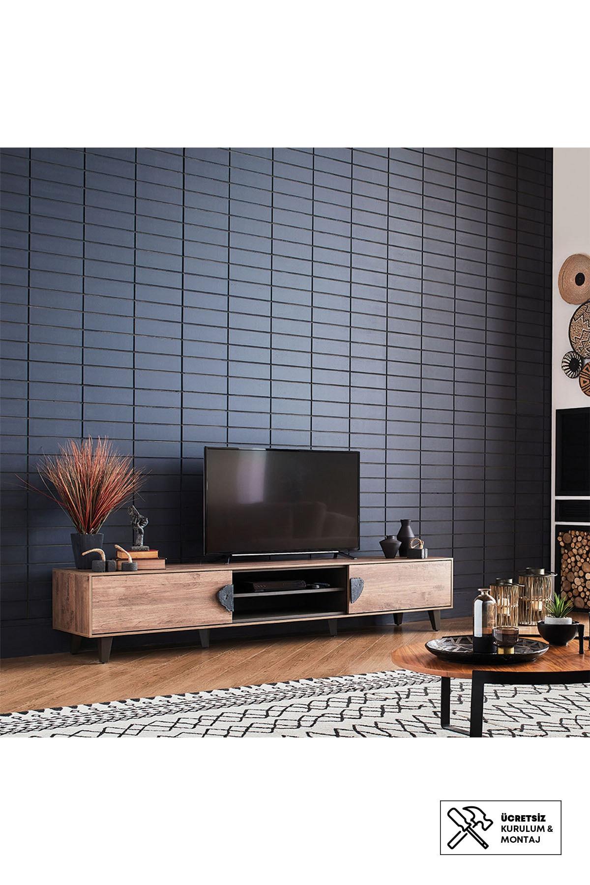 Enza Home Orlando Tv Sehpası (48X249X50 Cm)