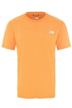 THE NORTH FACE Reaxion Crew Erkek T-shirt Turuncu